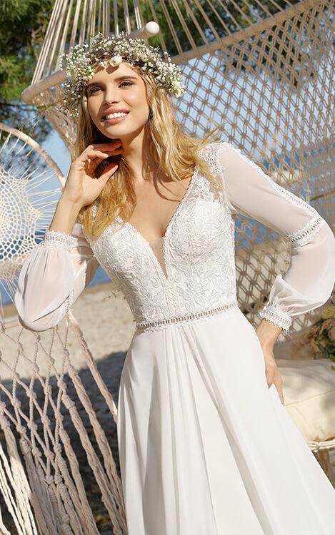 Brautmoden für Sie – Wählen Sie aus einer unserer vielen Kollektionen.
