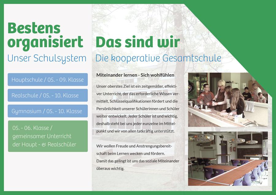 Flyer Gesamtschule Schwingbach innen