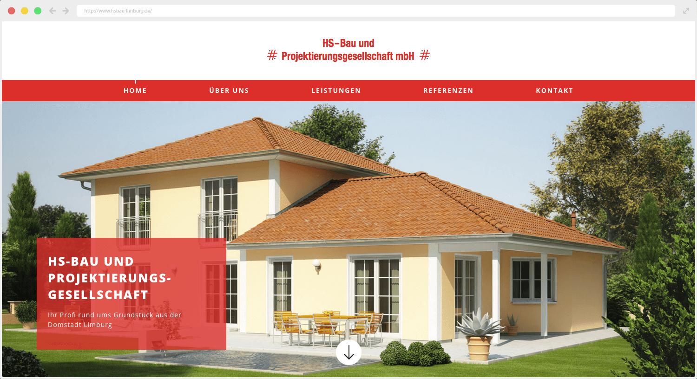 HS Bau Webseite
