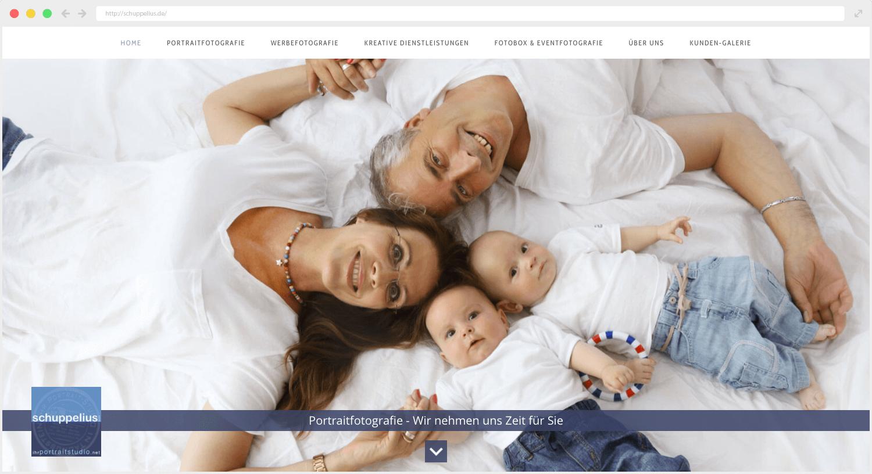 Webseite Schuppelius